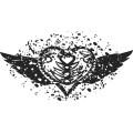 Gm Grunge Vector Heart 01