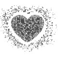 Gm Grunge Vector Heart 07