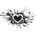 Gm Grunge Vector Heart 12