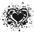 Gm Grunge Vector Heart 13