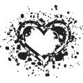 Gm Grunge Vector Heart 14