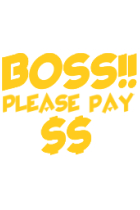 Boss Please pay $$
